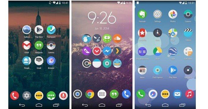 Как восстановить иконки на рабочем столе Android