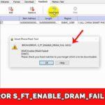 Решение BROM ERROR : S_FT_ENABLE_DRAM_FAIL (4032)