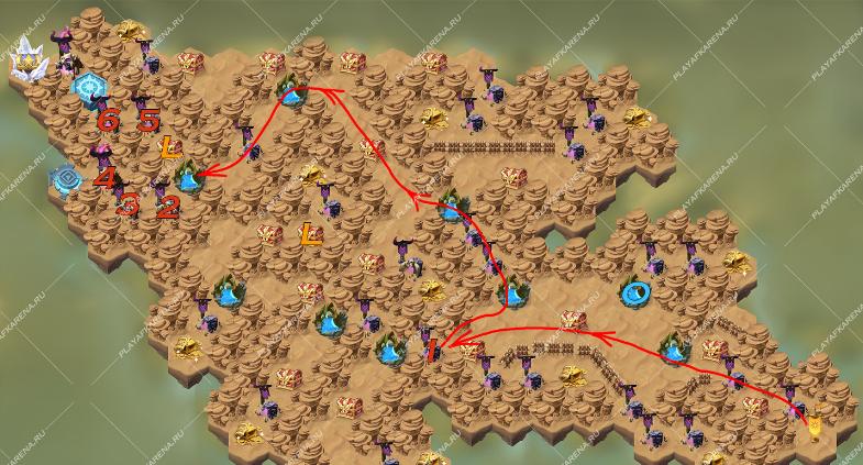 Прохождение сложных уровней Afk Arena