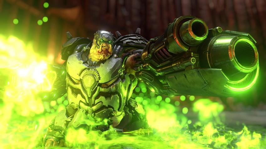 Doom Eternal вылетает с ошибкой