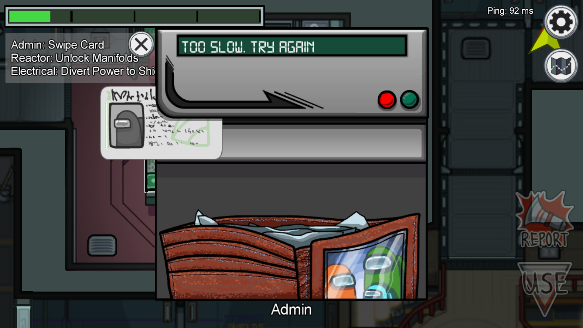 Скриншот из игры Among Us