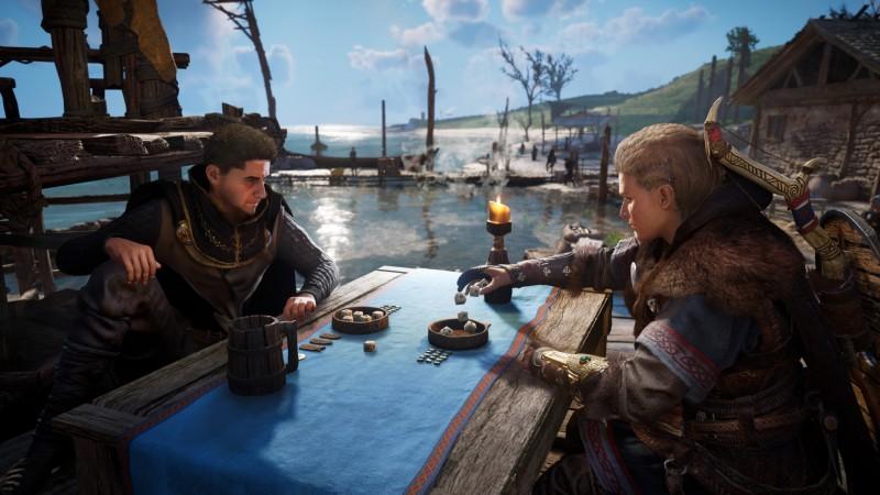 Assassin's Creed Valhalla черный экран при запуске